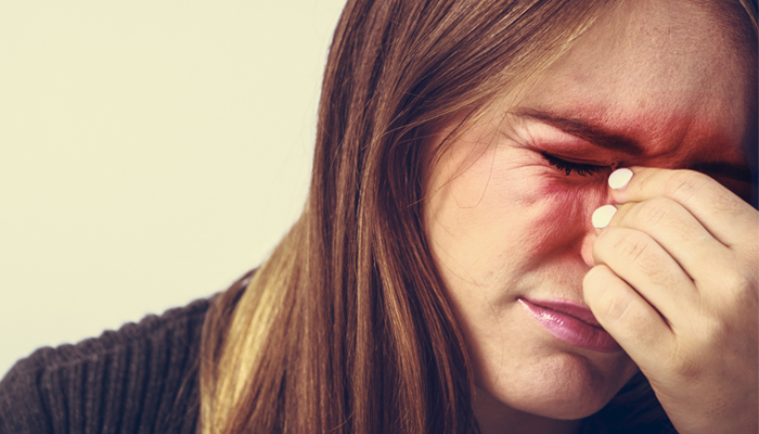 Acupuncture can help relieve sinus pain.