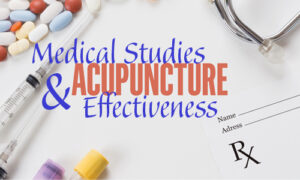 Image of title of article, Medical Studies and acupuncture effectiveness